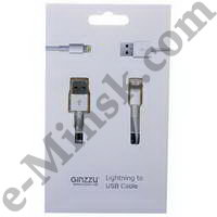 Кабель Ginzzu GC-501W (Lightning - USB), КНР