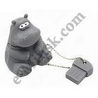 USB Flash (флешка) 16Gb Iconik RB-HIPPO-16GB Бегемот, КНР