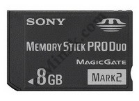 Флеш карта Memory Stick (MS) Duo Pro 8Gb Sony, КНР